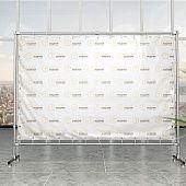 Press Wall (Пресс-волл) Каркас для баннера из хромированных труб